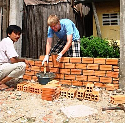 Volunteer Construction Work
