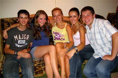 Volunteers in Moldova
